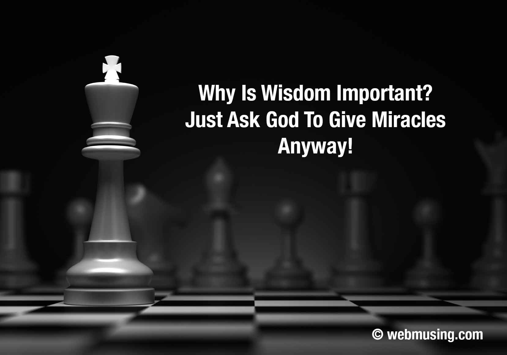 Musing on Wisdom